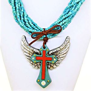 Cross/Wing Necklace (Necklace Only)